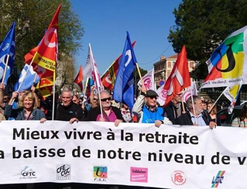 Colère des Retraité.es ! Manifestations le 14 juin 2018.
